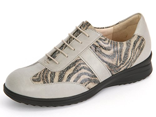 Finn Comfort Lazio 02223-901415 Ladies Lace-up Comfort Grigio