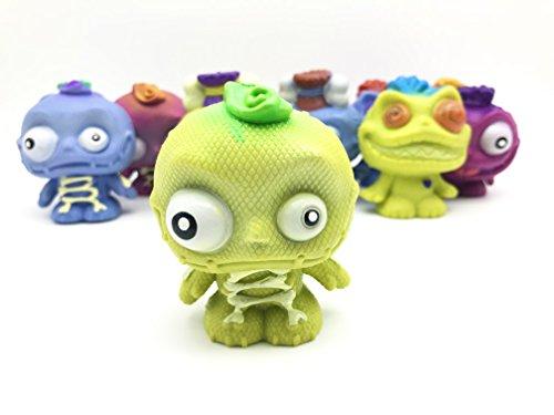 JustRean Toys 1 Zombie Squeeze Ball  AntiStressBall zum quetschen, werfen & Wut ablassen - Voodoo Anti-Stress-Ball