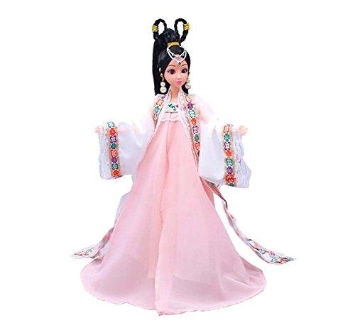 tüm Prinzessin / Göttin Spielzeug Menschen Puppen Mädchen Dressup-Pink (Alte Menschen Kostüme Für Kleinkinder)