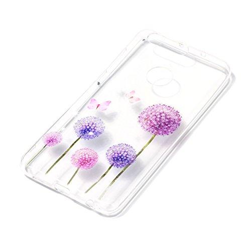 KANTAS 3X Coque Silicone Transparente pour Huawei Honor 8 TPU Doux Back Case Caoutchouc Gel Etui Clair Ultra Mince Coquille Slim Fit Flexible Housse Silicone Souple Rubber Soft Clear TPU Bumper Soft C 1