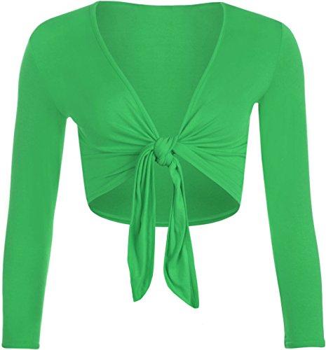 WearAll Damen Bolero, grün