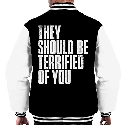 Cloud City 7 The Last of Us II They Should Be Terrified of You Men's Varsity Jacket