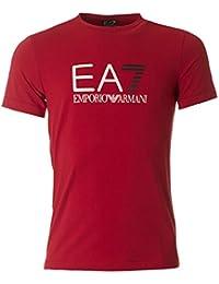 Emporio Armani EA7 t-shirt manches courtes ras du cou homme rouge