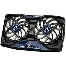 ARCTIC Accelero Twin Turbo II - Graphics Card Cooler for Efficient GPU, RAM- and VRM-Cooling - VGA Cooler for Mid Range and High End VGA Cards