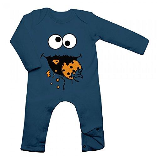 Shirt Happenz Kostüm Krümelmonster Babybody Verkleidung Karneval