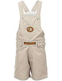 FirstClap Cotton Short(Knee Length) Dungaree For Kid's
