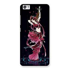 Delighted Princess Pose Back Case Cover for Xiaomi Redmi Mi5
