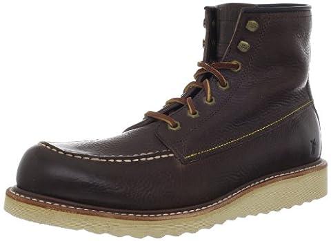 Frye Dakota Wedge, Mens Biker Boots, Brown (Dbn), 9 UK (43 EU)