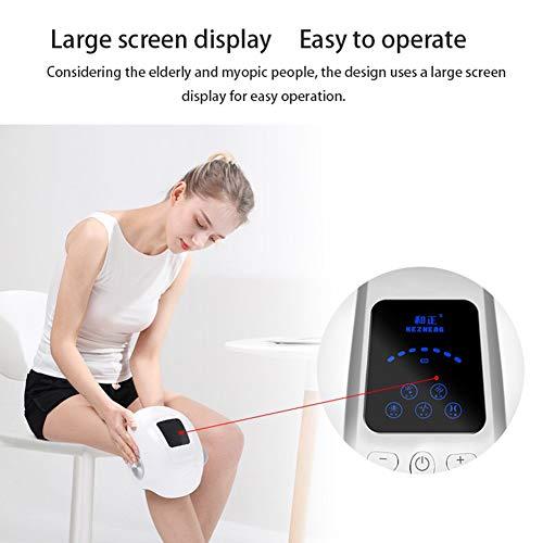 SW Beine Massageger?te Bein-Massage Geraet mit Einstellbare Universalgr??e Kniestütze, passt rechts und Links, Unisex