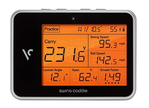 Voice Swing Caddy 2019 SC300 Golf Portable Launch Monitor/Trainingshilfe Black