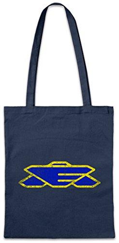 Urban Backwoods Earth Alliance Logo Hipster Bag Beutel Stofftasche Einkaufstasche Space TV Center Series Babylon Five 5 Fan (Center-serie)