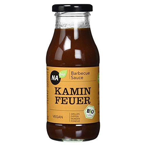 Nabio Bio Barbecue Sauce Kamin Feuer, 240 ml