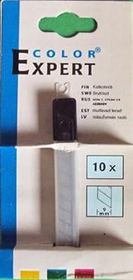 10 Ersatzklingen f. Cuttermesser/Teppichmesser, 9 mm von Color Expert - TapetenShop