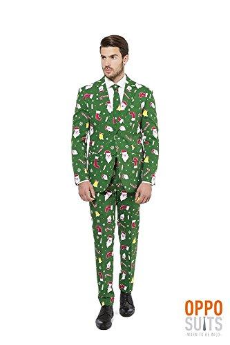 Santa Anzug für Herren Opposuits S (Herren Santa Anzug)