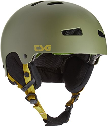TSG Arctic Kraken Solid Color Helm, Satin Trench, S/M Satin Trench