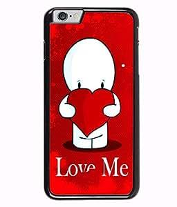 Fuson 2D Printed Love Designer back case cover for Apple iPhone 6S - D4456