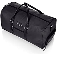 Large PREMIUM Quality Gym Bag Duffle Bag Sports Bag Overnight Travel Holdall Bag Weekend Travel Bag Cabin Carry on Luggage with separate Shoe compartment, Available in 4 different Colors