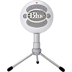 Blue Microphones Snowball Ice - Micrófono condensador, conexión USB