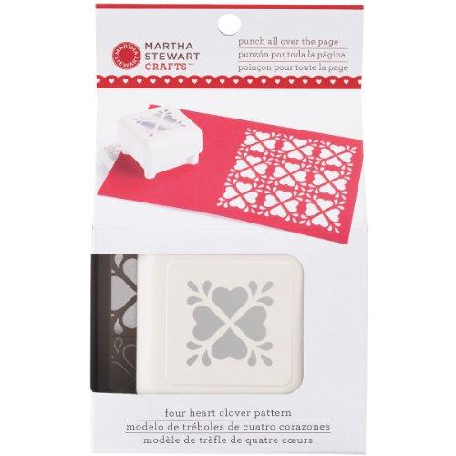 Martha Stewart Crafts Herz Kleeblatt Muster Punch alle über die Seite -