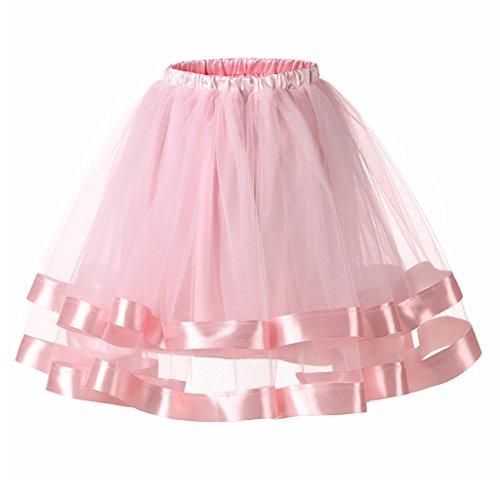 Ellames Damen 1950er Jahre Vintage Tutu Petticoat Rock -