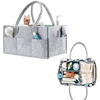 Organizador de pañales de bebé y de juguetes de viaje, cesta para artículos de bebé para regalo de recién nacido, de QICI