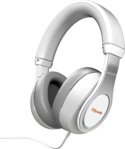 Klipsch Reference Over-Ear Binaural Bandeau Blanc Casque Audio - Casques Audio (0,1 W, Binaural, Bandeau, Blanc, avec Fil, 1,2 m)