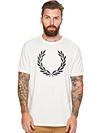 Fred Perry Fp Laurel Wreath Ringer, T-Shirt Homme