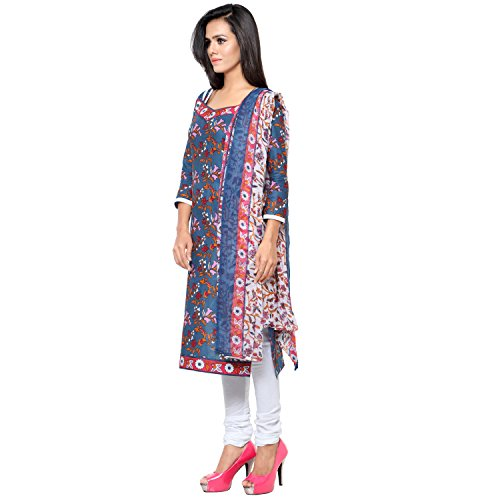 Sky Global Women's Printed UnStitched Salwar Suit Dress Material (Sky_5083)(TK-4)