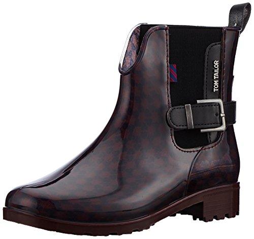 2301 Stiefel, Rot (Bordo), 37 EU (Toms Stiefeletten Für Frauen)