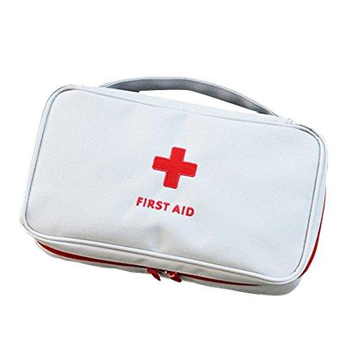Erste Hilfe Set,Lifesport Erste-Hilfe-Koffer First Aid Kit Notfalltasche Medizinisch Tasche Klein kompakt Perfekt Design für Haus Auto Camping Jagd Reisen Natur und Sport (Grau)