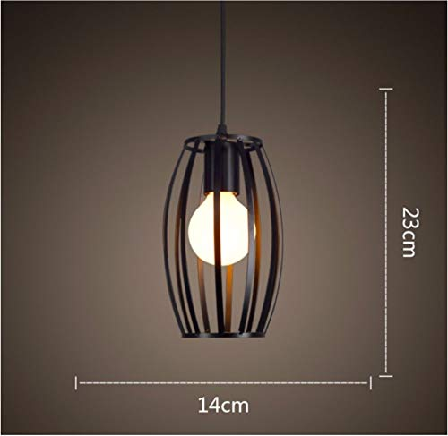 Iron Industrial Wind Bar Loft Personalized Small Lamps 14 * 23Cm Studie Stillvoll Elegant (14 Sky-laternen)
