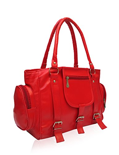Vintage Women's Handbag (Red,Bag 65)  available at amazon for Rs.280