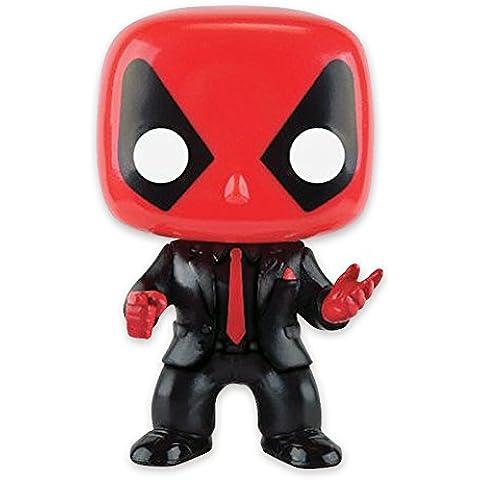 Figura Movible Bobble-Head Marvel Pop! Vinyl - Deadpool [Con traje y corbata]