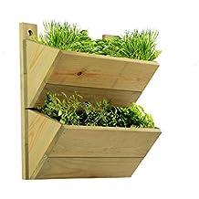macetero de pisos estante de madera premium para colgar macetas invernadero colgante de gran calidad se puede utilizar para poner hierbas o plantas en