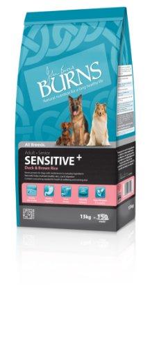 Burns Dog Food Sensitive with Duck Adult & Senior 15 kg
