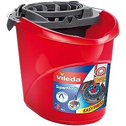 Vileda - Seau-Essoreur pour Balai Franges Supermocio