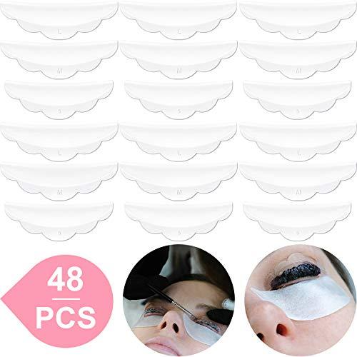 Rizador Permanente Pestañas Silicona 48 Piezas S