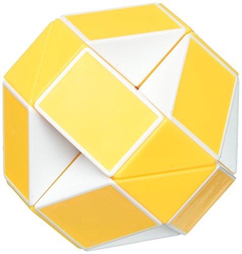 (ShengShou Magic Snake White & Yellow Twist Puzzle)