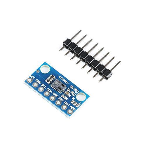 MFMYUANHAN CCS811 Sensor-Modul GY811 Luftqualität Numerische Gas-Sensoren TVOC CO2 GYCCS811 Elektronisches DIY PCB Board für Arduino -