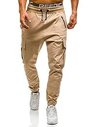 BOLF – Pantalons de sport – Training pantalons – Casual – Baggy – Cargo – Motif – Homme [6F6]
