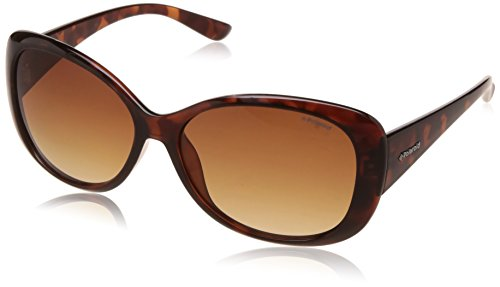 Polaroid Polarized Oval Women's Sunglasses - (P8317 0BM 58LA|58|Brown Color) image
