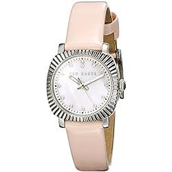 Ted Baker Ladies Pink Strap Watch