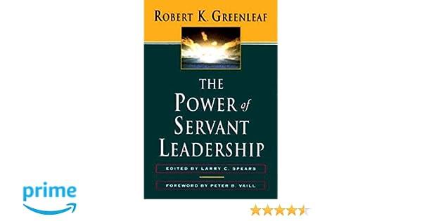 essay leadership power servant