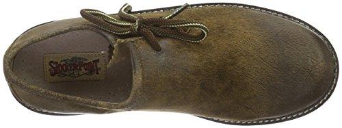Stockerpoint Schuh 1224, Derby à lacets mixte adulte Marron - Braun (havanna gespeckt)