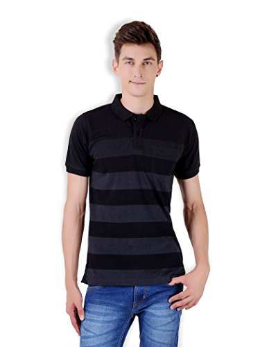 Tapasya Anthra Jaquard Polo T-Shirt