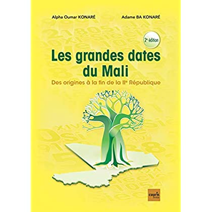 Les Grandes Dates du Mali - des Origines a la Fin de la Iie Republique