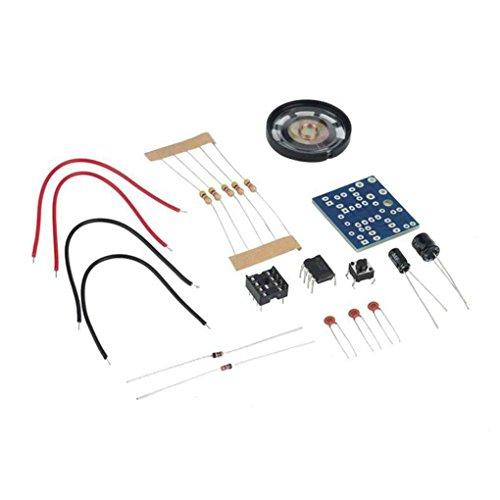 Ding Dong Türklingel Elektronische Glocke DIY Kit Suite Module für Home Security 6V PCB 3,9 x 3,5 cm Pandiki