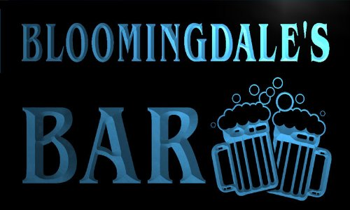 w043554-b-bloomingdale-name-home-bar-pub-beer-mugs-cheers-neon-light-sign-barlicht-neonlicht-lichtwe
