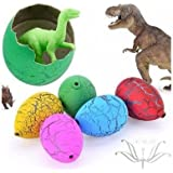 SN Toy Zone Magic Water Growing Animal Eggs High Quality Shinning Material (Pack of 5+3 Free)