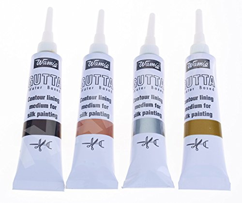 set-of-4-wamiq-silk-painting-water-based-gutta-20-ml-tubes-black-silver-gold-copper